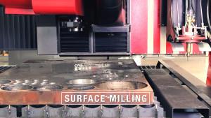 K5000xmc - Milling plate